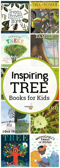 inspiring and informative children's books about trees #nature #tree #kids #childrensbooks
