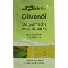 OLIVENÖL Morgenfrische Gesichtsmaske:   Packungsinhalt: 15 ml Gesichtsmaske PZN: 06816240 Hersteller: Dr. Theiss Naturwaren GmbH Preis:…