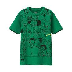 BOYS Peanuts Short Sleeve Graphic T-Shirt