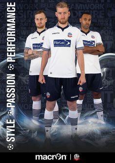 Bolton Wonderers Home Kit 2014/2015
