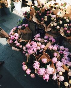 our favorite weekend activity includes fresh flowers + farmers markets