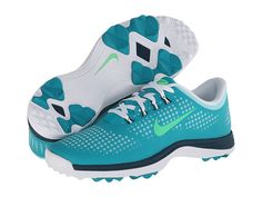 Nike Golf Lunar Empress Turbo Green/Lt Lucid Green/Nightshade - 6pm.com