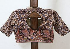 Kalamkari Blouse Design 24