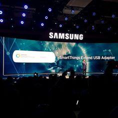 Nuevo extensor USB SmartThings desde tu Samsung Smart TV GRATIS  @samsungpty #CES2016