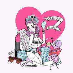 Girly girl [Thank you, my real mermaid @Verona Sugarpink <3]