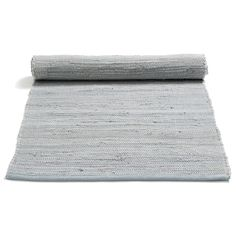 Cotton matta med kant, grå i gruppen Mattor / Mattor / Bomull & Lin hos RUM21.se (1023720r)