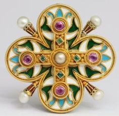 Castellani Brooch