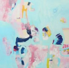 Sing your own song - original abstract on canvas