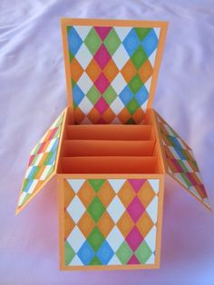 The Non-Crafty Crafter: CRICUT: A free Box Card cut file for you