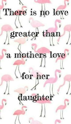 Lots of love and pink flamingos!