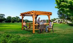 Patio Products - Oasis Pergola 10 X 12 Pergola #header #wide