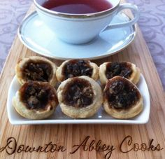 Banbury tarts, named after the town in England, are a lovely little tea treat to share with fellow Downton Abbey fans