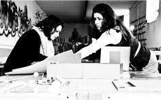 Soleila and Alessandra at work! aquapotabile.com