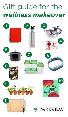 Gift Guide for the wellness makeover