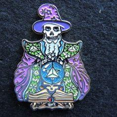 Warlock Grateful Dead Pin by TheMindCradle on Etsy, $17.00