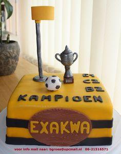 Korfbal champion cake die krijgt Iris zaterdag!!