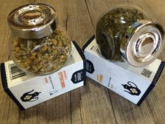 We have two lovely #caffeinefree #herbal #teas (in #looseleaf or pyramids); a true peppermint with a lovely fresh menthol aroma and a cool fresh taste and first grade Camomile which exudes a delightful, fruity flavour with a pleasing floral aroma