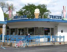 Frozen Custard, Lafayette, Indiana by Robby Virus, via Flickr