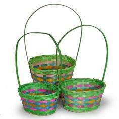 Green Easter Baskets!