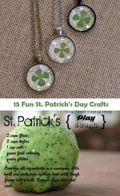 St. Patrick's Day Crafts- cute ideas for holiday decor, kids and other fun St. Patty's Day craft projects.