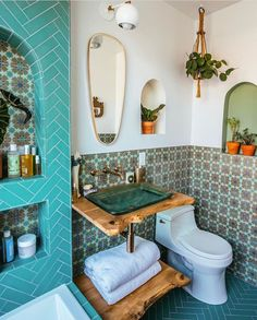 Jungalow Bathroom Before And After With Kohler