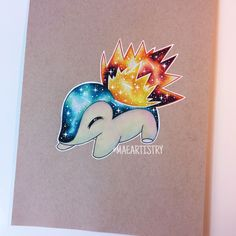 Cyndaquil ________ Connect with me ↓ ‣ Youtube • https://youtu.be/MDDNy8seQHY ‣ instagram.com/maeartistry ‣ facebook.com/marilynmaeart ‣ twitter.com/maeartistry ‣ maeartistry.tumblr.com