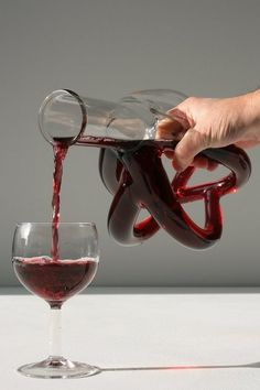 cool wine decanter.