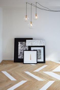 Skip Stop House by DH Liberty #herringbone #decor #interiordesign
