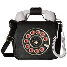 Betsey Johnson Phone Crossbody (Black) Cross Body Handbags ($98) ❤ liked on Polyvore featuring bags, handbags, shoulder bags, betsey johnson crossbody, shoulder strap bags, crossbody handbag, hand bags and betsey johnson handbags