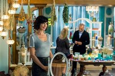 "Check out photos from the Good Witch season 2 episode, ""Second Time Around"" Good Witch Season 2, The Good Witch Series, Witch Tv Series, Witch Film, Hallmark Good Witch, Witch Tv Shows, Netflix, Catherine Bell, Witch Decor"
