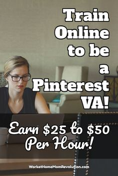 Pinterest VAs are currently demanding $25 to $50 per hour and getting it! So can you! Learn how to start your own Pinterest VA business today!  It's a flexible and lucrative home business! If you've been seeking a work at home career where you can control your income and make a difference, then this may be it!