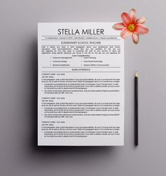 teacher resume template cover letter by advancedresumedesign - Resume Letter Template