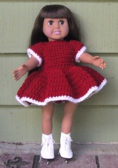 American Girl Dolls and 18 Inch Doll Clothes Free Crochet Patterns