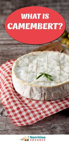 Camembert: a Delicious (and Healthy) French Cheese Nutrition Articles, Nutrition Information, Baked Camembert, Camembert Cheese, Cheese Recipes, Appetizer Recipes, Appetizers, No Dairy Recipes, Healthy Recipes