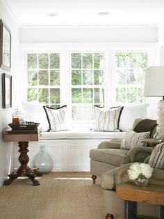 Sunroom with Wall-to-Wall Sisal & Seagrass
