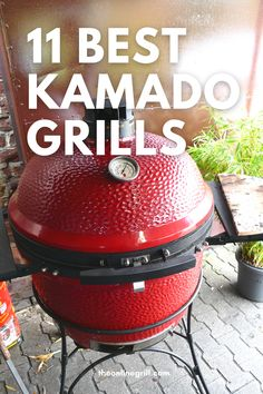 The best kamado grills for your patio or backyard. Ceramic grills and cookers from brands like Kamado Joe, Char Griller, Weber, Primo, and more. Best Kamado Grill, Bbq Grill, Barbecue, Best Charcoal, Charcoal Grill, Ceramic Grill, Kamado Joe, Best Bbq, Backyard