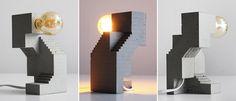 Sculptural Lamp no. 1 on Behance