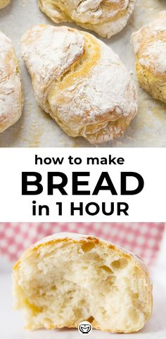 Homemade panini bread ready in 1 hour (no knead). This super easy panini bread recipe will make your kitchen smell like an Italian bakery and you'll enjoy crusty irresistible homemade bread perfect for your sandwiches! Best Bread Recipe, Easy Bread Recipes, Baking Recipes, Crusty Bread Recipe Quick, Crusty Italian Bread Recipe, Super Easy Bread Recipe, Italian Bread Recipes, Ham Recipes, Recipes Dinner