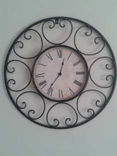 our large kitchen clock.
