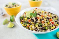 Quinoa Mexi-Lime Salad - perfect summer salad!