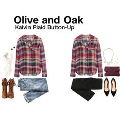 Love plaid for cool fall days!