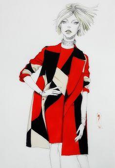 #fashion #illust #fashion #illustration #패션일러스트 #아트앤조 #fashion #drawing