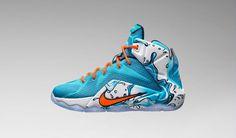 "Nike Kids: LeBron 12 ""Buckets"""