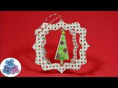 HTM Arbol de Navidad *Christmas Crafts* Manualidades de Navidad Adornos ...