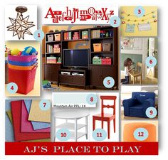 organized playrooms   The ceilings are only 8ft so I had no choice but to refer back to ...