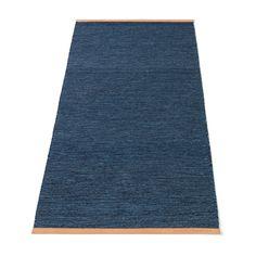 Björk teppe, blå i gruppen Tekstil / Tepper / Ull hos ROOM21.no (129414r)