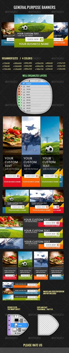 General Web #Banners