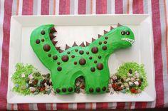 Dino birthday cake made for Nicholas!