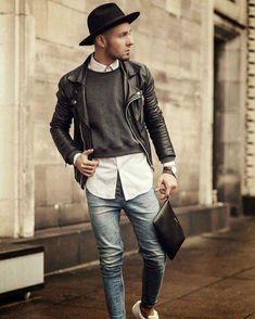 Hipster fashion, fashion mode, urban fashion, street fashion, fashion o Hipster Man, Moda Hipster, Style Hipster, Hipster Outfits, Hipster Fashion, Mode Outfits, Fashion Outfits, Rebel Fashion, Hipster Tops