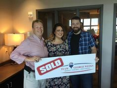 Congratulations to Paul & Chasity B. on the sale of their house with #TeamGeorgeWeeks! #sold